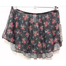 Black Garden-Adult Skirt