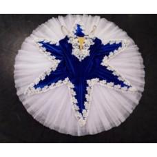 Royal Blue Velvet Tutu