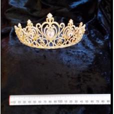 Gold Crested Tiara