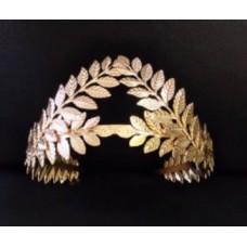 Gold Leaf Tiara