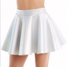Hologram Neoprene Skater Skirt