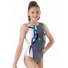 Metallic Swirl Leotard
