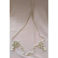 Flower Diamante Necklace