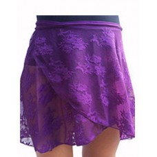 Lace Skirt-Black