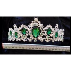 Emerald & Silver Tiara