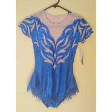 Fringe leotard
