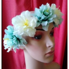Flower Garland -Two Toned