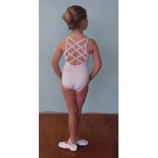White Lattice Leotard-Childs
