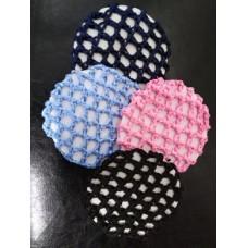 Bun Net Crocheted