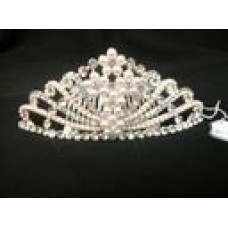 Simply Lovely Pink Pearl Crown