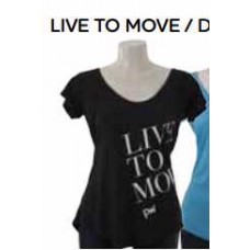 Live To Move-T-Shirt